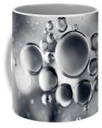 Silver Macro Droplets Coffee Mug
