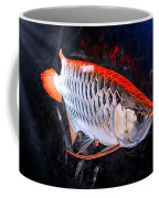Silver Orange Arowana  Coffee Mug