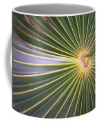 Silver Palm  Coffee Mug