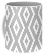Silver Pattern Coffee Mug by Christina Rollo