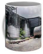 Silver Tanks In Factory Coffee Mug