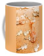 Silver Violin Pendant With Diamonds Coffee Mug