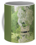 Silver White Willow Coffee Mug