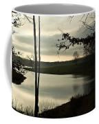 Silver Winter Lake Coffee Mug