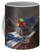 Silvered Fruit Coffee Mug