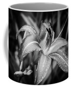 Silvered Lily Coffee Mug