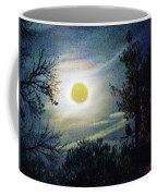 Silvery Moon Glow Coffee Mug