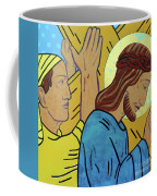 Simon Helps Jesus Coffee Mug