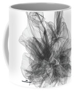 Simple Black And White Abstract Coffee Mug