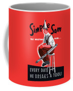 Simple Sam The Wasting Fool Coffee Mug