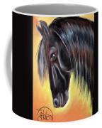 Simply Black Coffee Mug