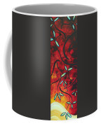 Simply Glorious 1 By Madart Coffee Mug by Megan Duncanson
