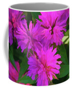 Simply Soft Pink Petals Coffee Mug