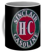 Sinclair Gasoline Porcelain Sign Coffee Mug
