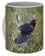 Sing Me A Song, Red-winged Blackbird Coffee Mug