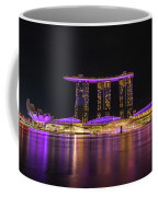 Singapore In Purple 1 Coffee Mug