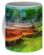 Singapore River Boats Coffee Mug