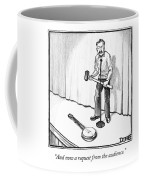 Singer Smashes Banjo Coffee Mug
