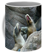 Singing Sea Lions Coffee Mug