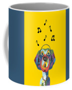 Singing The Blues - Dog Humor Coffee Mug