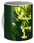 Single Angel's Trumpet Coffee Mug