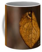 Single Fall Leaf Coffee Mug