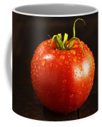 Single Fresh Tomato With Dew Drops Coffee Mug