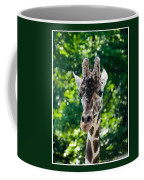 Single Giraffe Coffee Mug