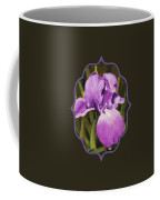 Single Iris Coffee Mug