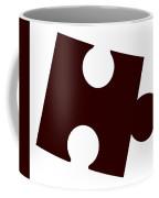 Single Jigsaw Piece Coffee Mug