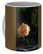 Single Peony Coffee Mug