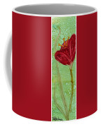 Single Poppy Coffee Mug