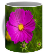 Single Purple Cosmos Flower Coffee Mug
