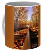 Single Track Mind  Coffee Mug