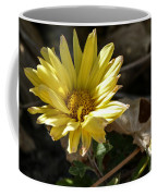 Single Yellow Mum Coffee Mug