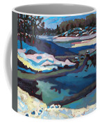 Singular Ice And Snow Coffee Mug