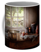 Sink - The Morning Chores Coffee Mug by Mike Savad