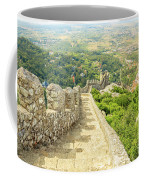 Sintra Moorish Castle Wall Coffee Mug