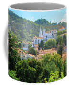 Sintra National Palace Aerial Coffee Mug