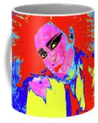 Siouxsie With Dragon Tattoo Coffee Mug