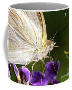 Sipping Purple Coffee Mug