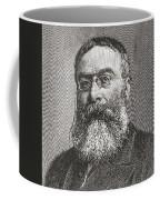 Sir Walter Besant, 1836 -1901. English Coffee Mug