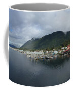 Sitka Alaska From The John O'connell Bridge Is A Cable-stayed Bridge 2015 Coffee Mug