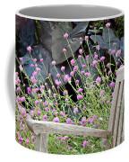 Sitting Amongst A Wildflower Garden Coffee Mug