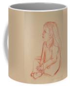 Sitting Girl Coffee Mug