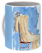 Sitting Girl Coffee Mug