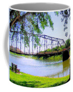 Sitting In Fort Benton Coffee Mug