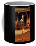 Sitting Nude In Glass Coffee Mug