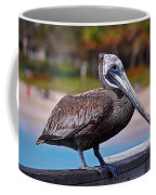Sitting On The Pier Coffee Mug