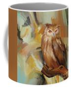 Sitting Owl Coffee Mug